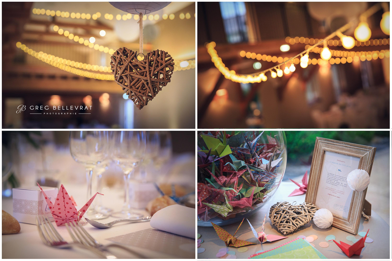 décoration mariage - les grues