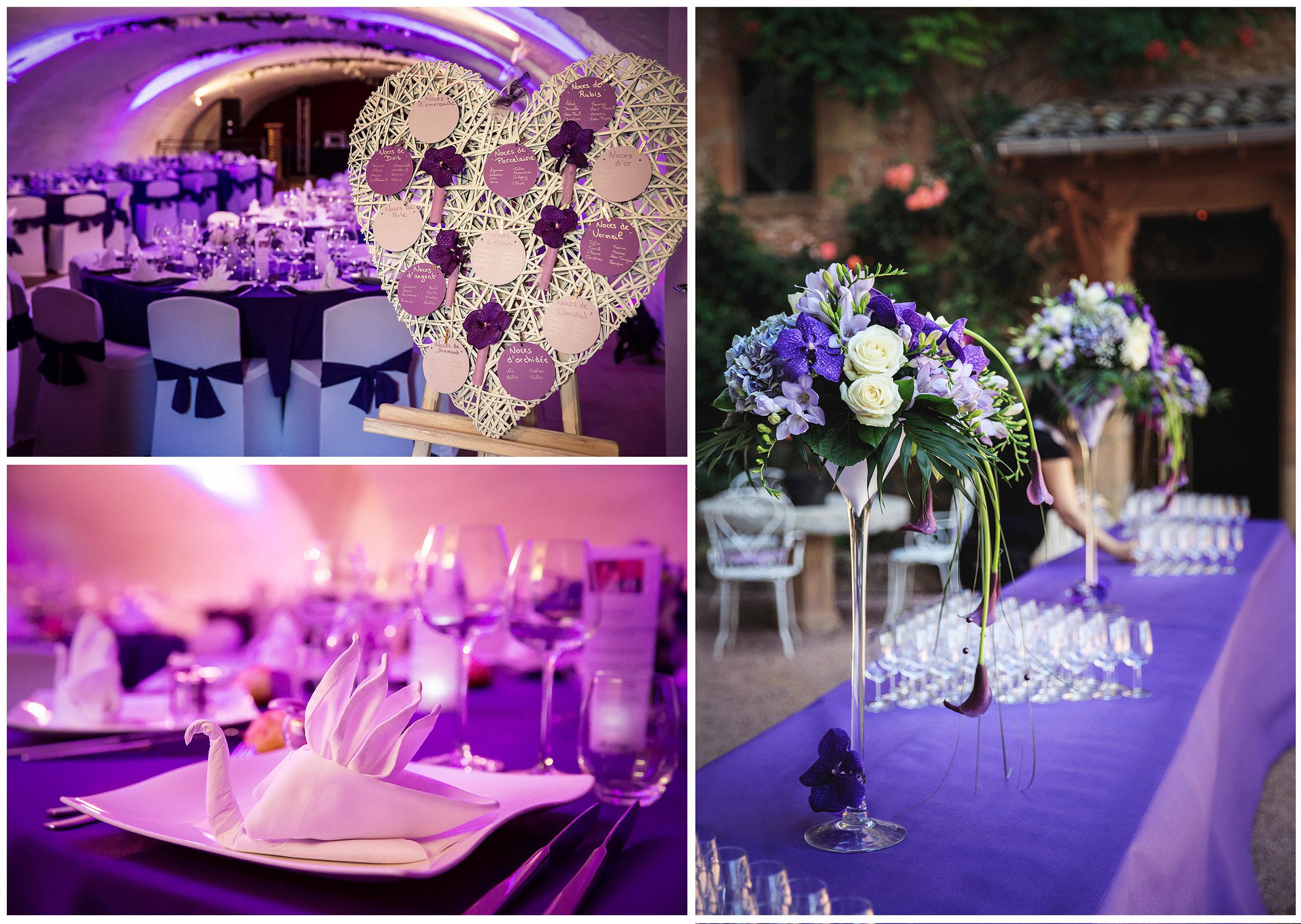 décoration mariage - romantique