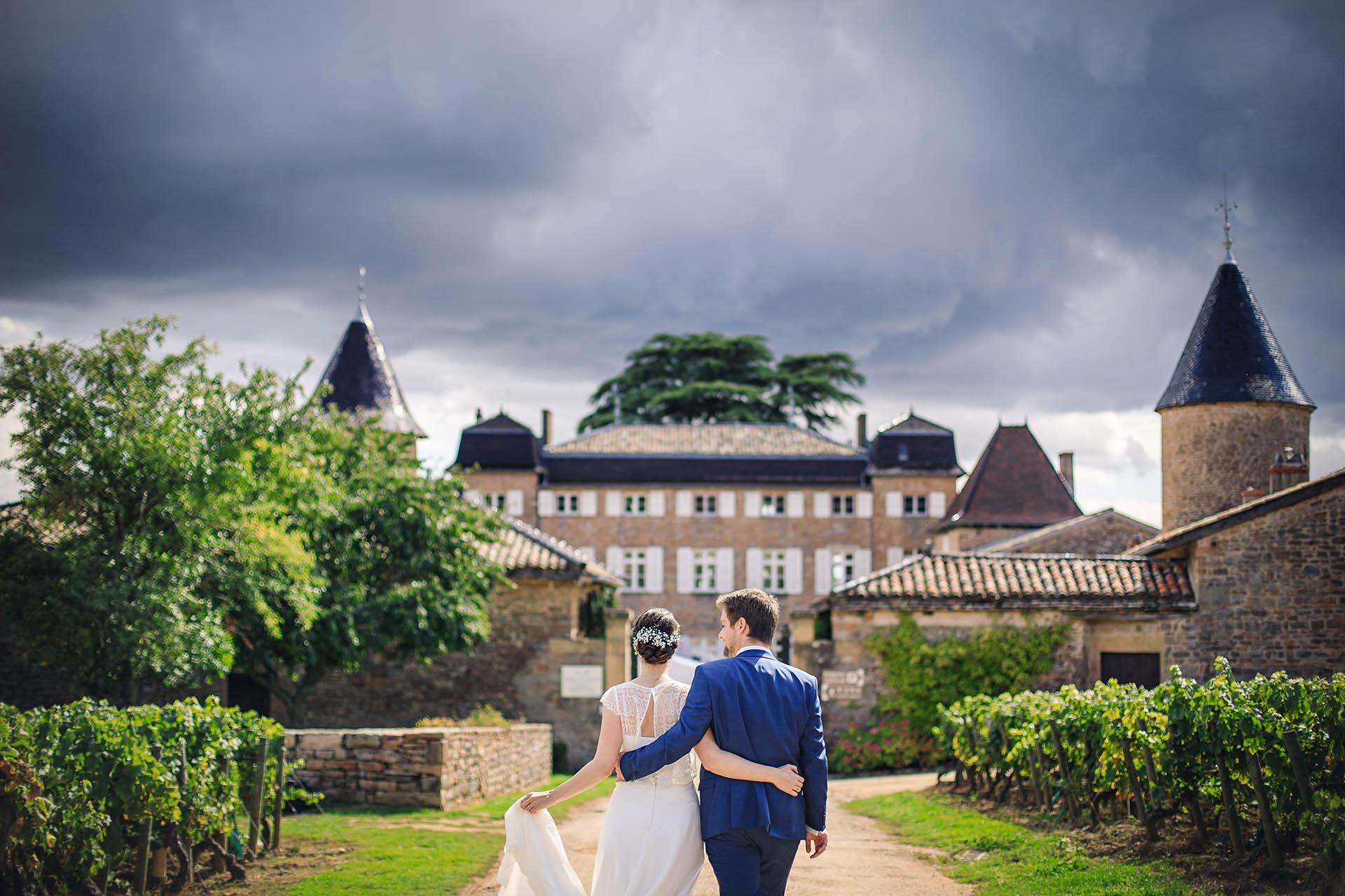 Chateau de Chasselas mariage