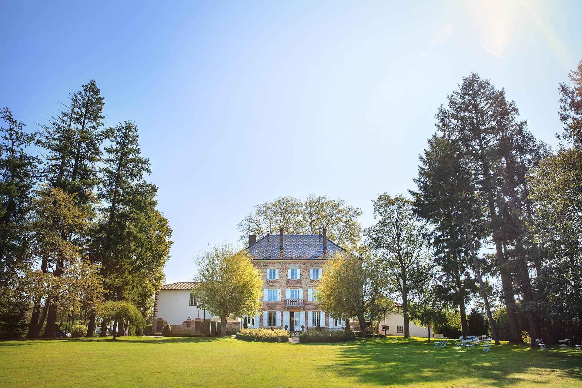 Chateau de Luponnas mariage Vonnas
