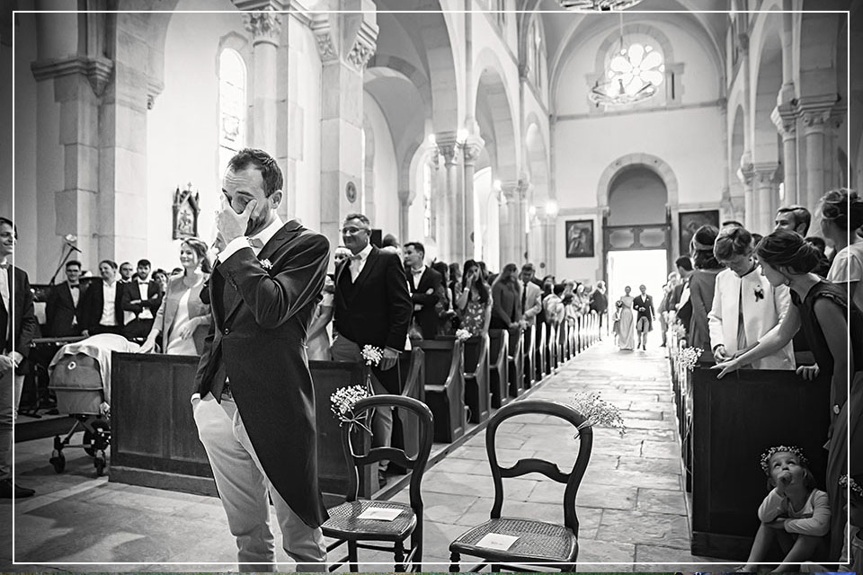 Photographe ain bourg en bresse mariage eglise